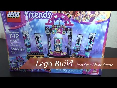 Let's Build - Lego Friends Pop Star Show Stage Set #41105 - Part 1