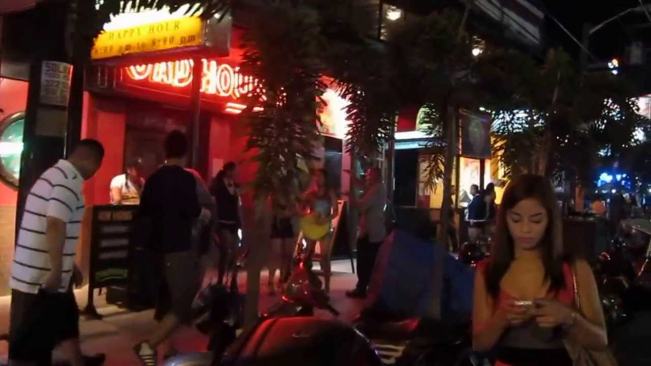 Walking street angeles city philippines pictures - list style type css image center