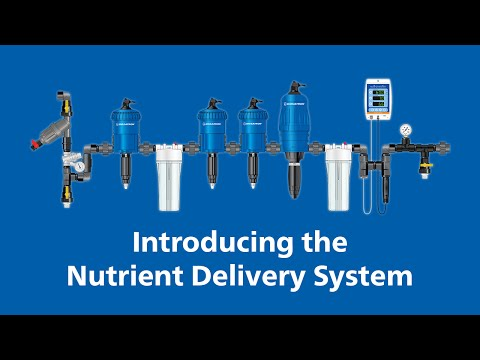 Introducing the Dosatron Nutrient Delivery System