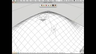 Sketchup Tutorial | Sculpting Organic Forms From Scratch