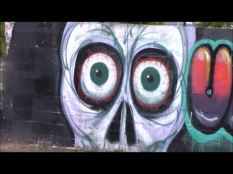 CAR KARAOKE, GRAFITTI, and RANDOM CHICKEN SCULPTURE??? - Shreveport, LOuisiana