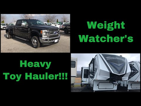 weight-watcher's---does-this-2019-ford-f350-have-enough-capacity-for-big-toy-haulers?-it's-close...