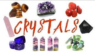 Amazing Types Of CRYSTALS and Their MEANINGS/Uses (As Preferred By Viewers)