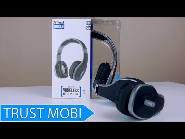 Słuchawki Bezprzewodowe za 160 zł Test Trust Mobi Bluetooth