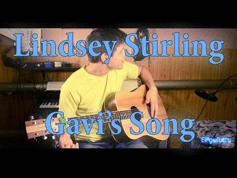 Lindsey Stirling - Gavi's Song - Acoustic Fingerstyle Guitar Cover