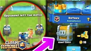HOW TO ACTIVATE YOUR KING TOWER and I GET a FREE GIANT CHEST while RECORDING!! Clash Royale [ReTrex]