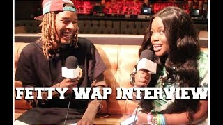 "Fetty Wap talks Trap Queen , Gucci Mane, Chris Brown ""One Hell of a Night"" Tour and More!"