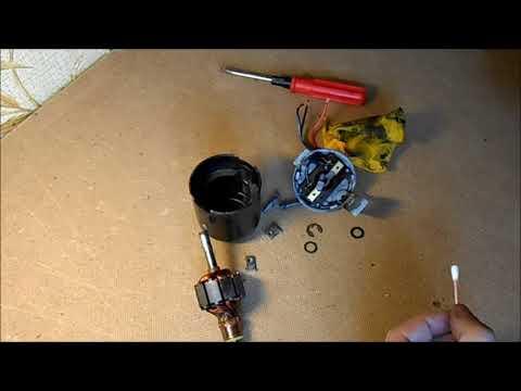 Ремонт электродвигателя отопителя ДО 2105