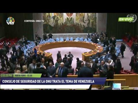 EN VIVO - Consejo de la ONU analiza el tema de Venezuela