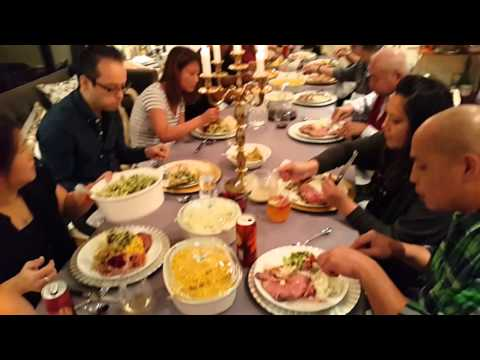 CANADIAN THANKSGIVING DINNER 2015