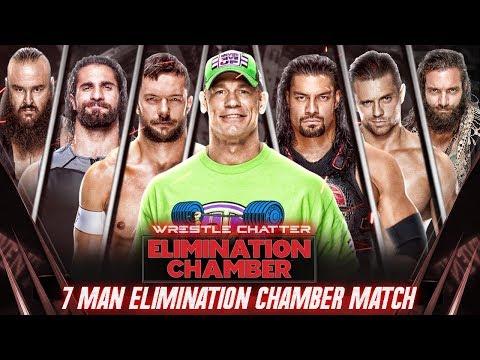 Why 7-Man Elimination Chamber Match ? WWE Elimination Chamber 2018