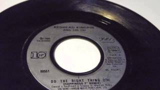 Redhead Kingpin And The F.B.I. Do The Right Thing PLAK RECORD 7""