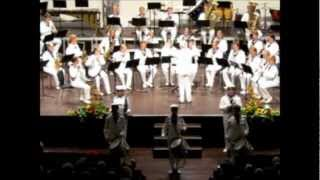 Concert in Torrevieja, Spain Thursday 23rd of August 2012 - The Royal Swedish Navy Cadet Band