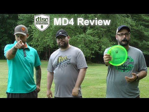 Discmania MD4 Disc Review