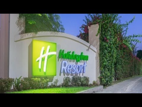 Jamaica's BEST! Holiday Inn Resort Montego Bay! (Formerly Sunspree) All Inclusive Guided Tour!