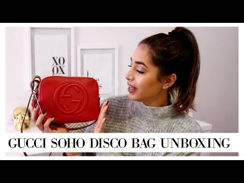 IT'S BEING DISCONTINUED?! RED GUCCI SOHO DISCO BAG || Eliana Jalali