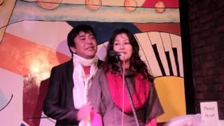 Karishma manandhar & Bijaya lama singing Together