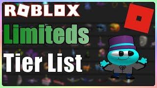 Roblox Limiteds Tier List