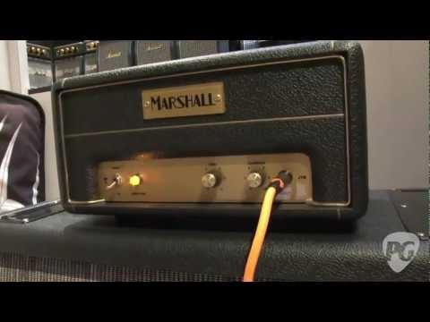 NAMM '12 - Marshall Amplification 50th Anniversary JTM1, JMP 1, JCM 800, DSL 1, and JVM 1 Demos