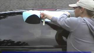 Как наклеить наклейку на авто. Сухой метод(, 2011-08-01T20:48:09.000Z)
