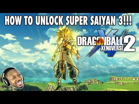 Dragon Ball Xenoverse 2 : How To Become A  Super Saiyan 3 Easy! [SSJ3] DBX 2 Saiyan Build