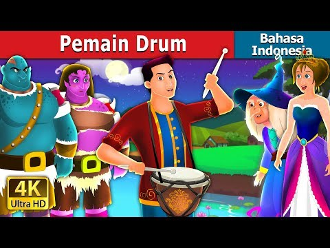 Pemain Drum | The Drummer Story | Dongeng Anak | Dongeng Bahasa Indonesia