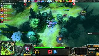 LGD vs Zenith - Game 2, Winner Bracket Semifinals - The International - Russian Commentary