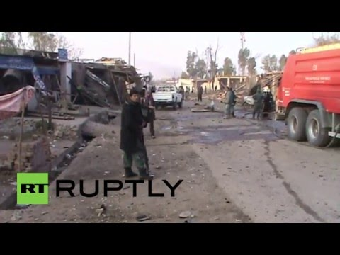 Afghanistan: At least 12 wounded as truck bomb hits police compound in Surkhrod