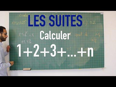 Download Les suites - Calculer 1+2+3+...+n