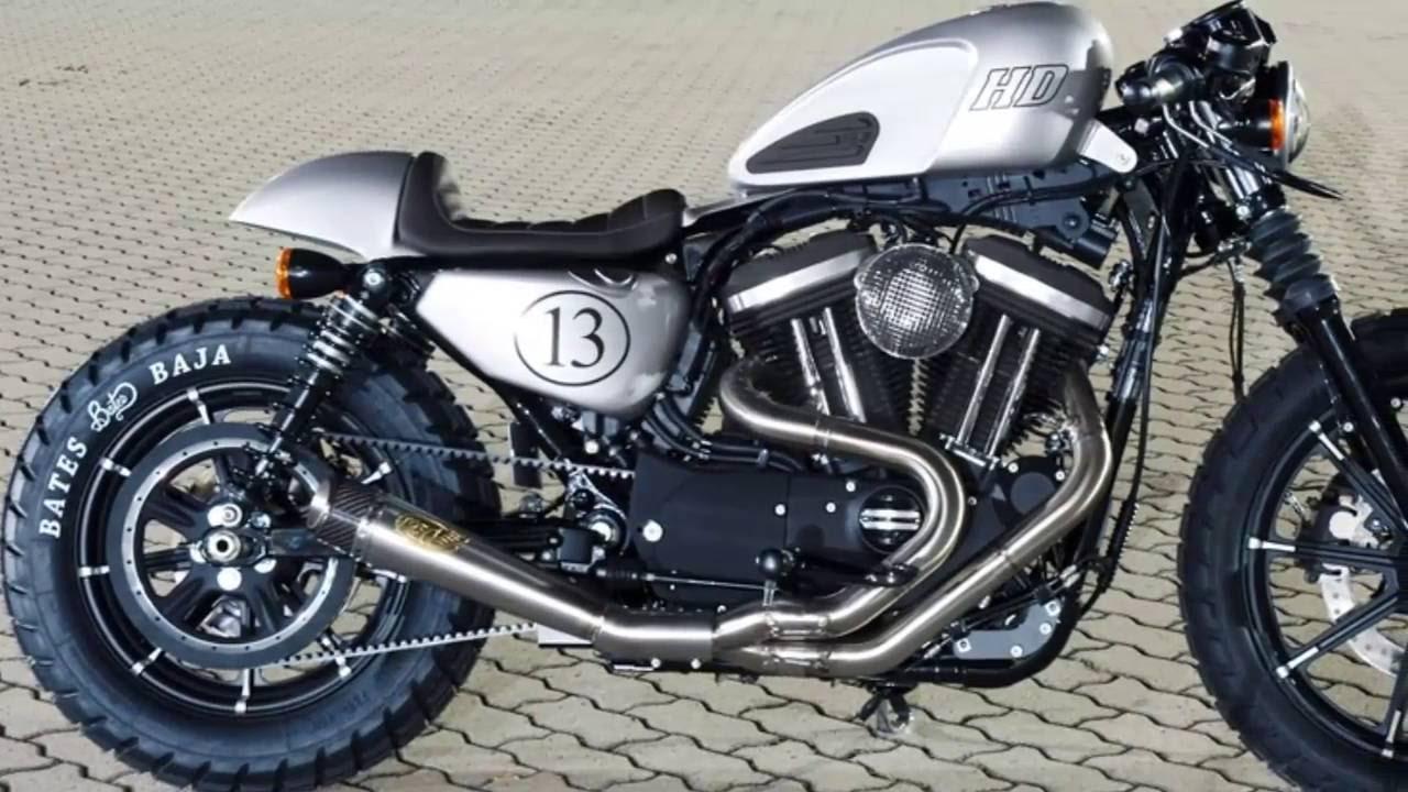 Très harley davidson iron 883 custom king by bratislava - YouTube YO14