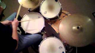 "Jon Biggs Pork Pie Drums "" Ventilator Blues "" - drum cover"