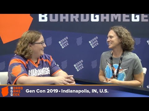 Elizabeth Hargrave — Interview with the designer of Wingspan at Gen Con 2019