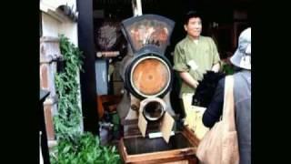 Japanese Bancha Tea machine 番茶 at Uji (Kyoto , Japan)