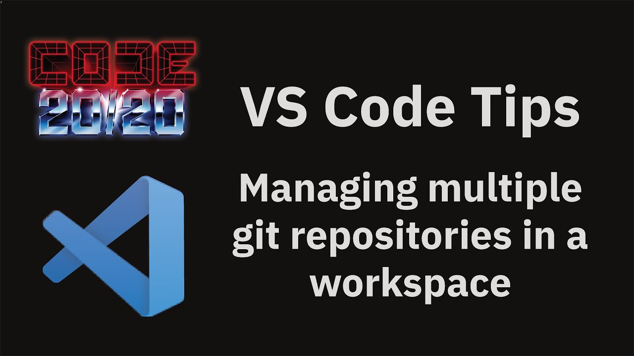 Managing multiple git repositories in a workspace