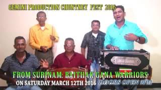 Baithak Gana Warriors Promo for Gemini Prod March 12
