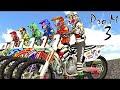 Juegos de Motos para Niños - Carrera de Moto Pro MX 3 - Videos ...