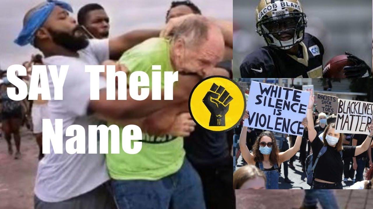"""BLM  ... SAY """"Black Lives Matter!"""" OR ELSE"""