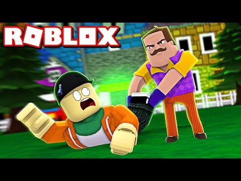 *AMAZING* HELLO NEIGHBOR REMAKE IN ROBLOX! | Roblox Hello Brother