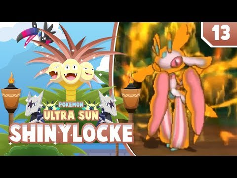 RUMBLE IN THE JUNGLE! Pokemon Ultra Sun and Moon ShinyLocke Let's Play w/ aDrive! Ep 13