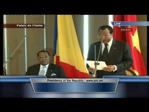 Tête-à-tête Paul Biya - Idriss Deby au Palais de l'Unité, jeudi 22 mai 2014