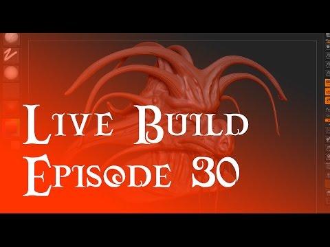 Live Build 30 - Creature Sculpting