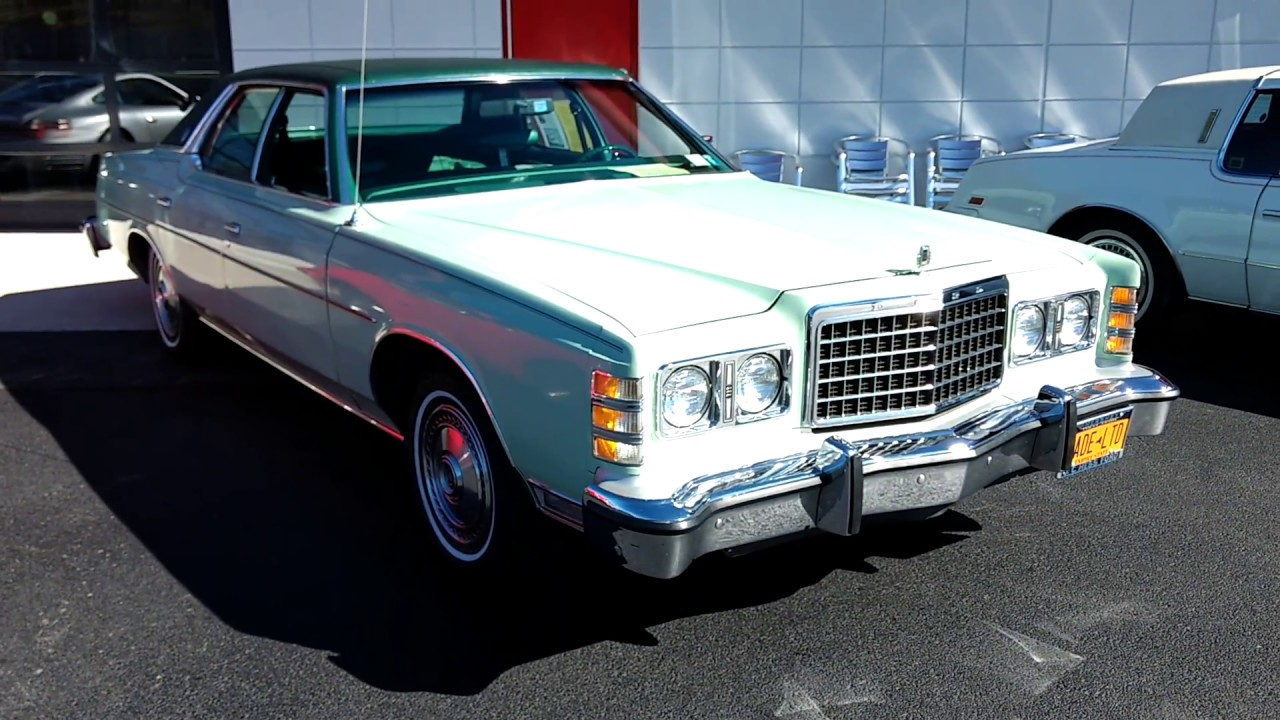 1978 ford ltd overview and walk around