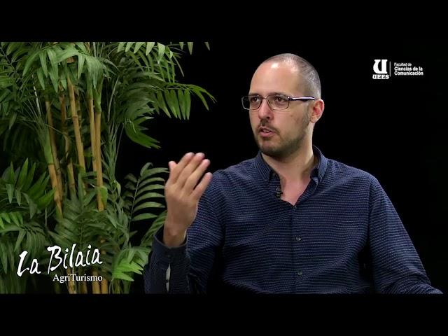 Intervista a Paolo Passano all' Università Espiritu Santo di Guayaquil (Ecuador)