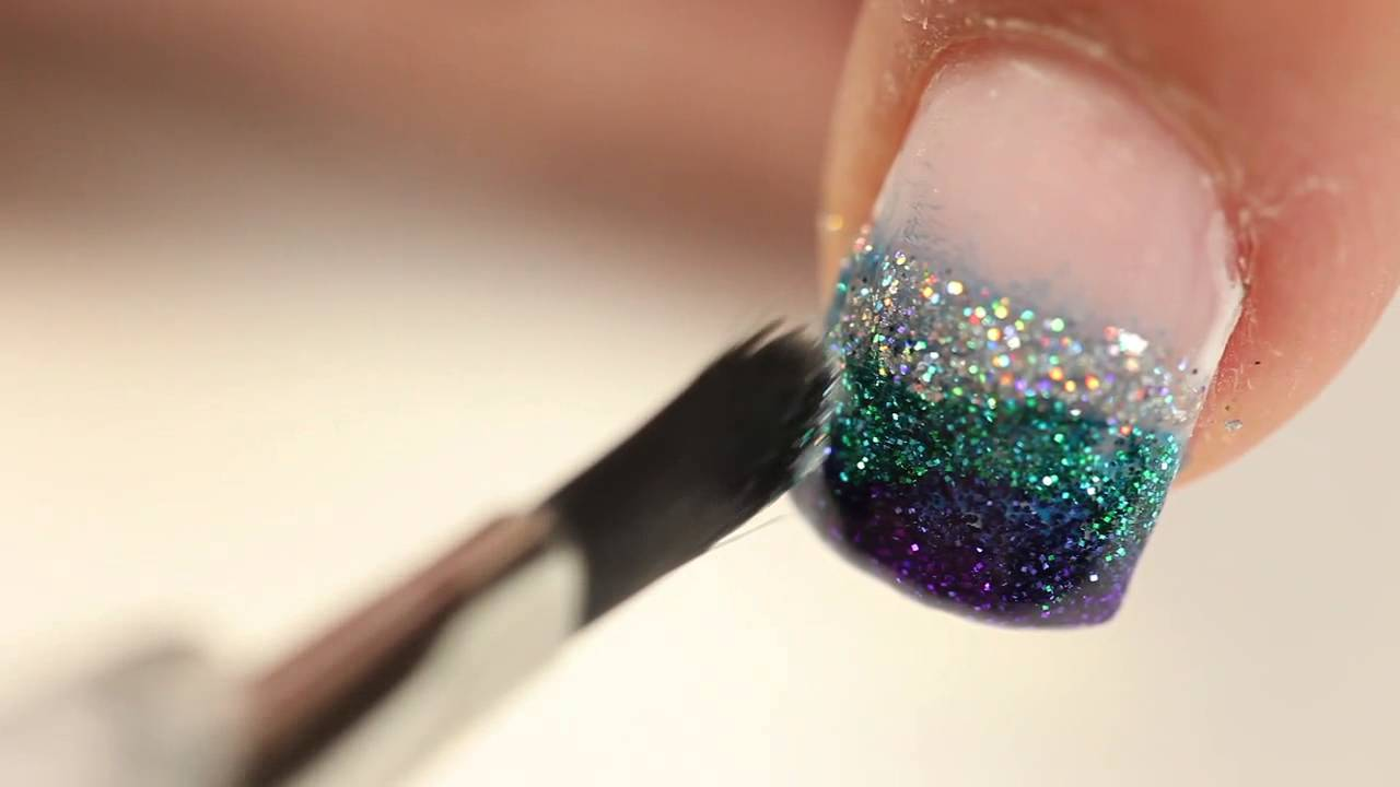 Glitter Fade Application Instructions - YouTube