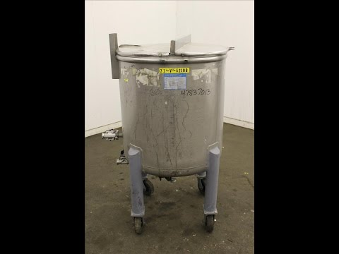 Used- Mueller Tank, 378 Liter (99.8 Gallon) - stock # 47837013