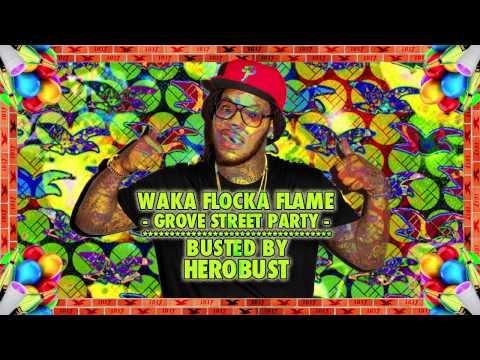 Waka Flocka Flame  Grove St Party BUSTED  HeRobust