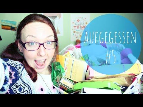 AUFGEGESSEN #5 | Lebensmittel Tops, Flops, Reviews  | Erdbeerliese