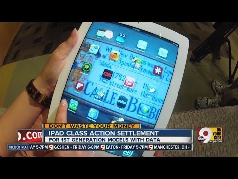 Urban Active and iPad class action suits