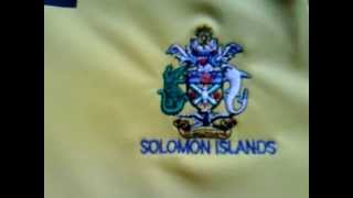 Solomon Islands National Football/Soccer Shirt/Jersey by Lotto