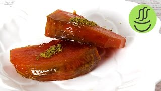 Fırında Kabak Tatlısı Balkabağı Tatlısı Nasıl Yapılır?